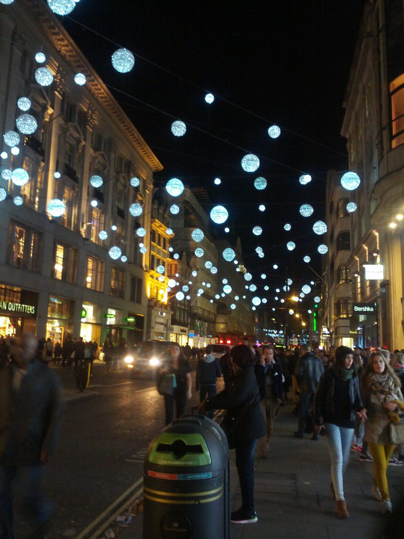 Christmas lights at Oxfordstreet